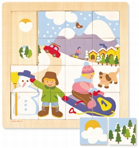 Puzzel Winter