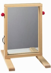 Spiegel vppr schildersraam (zonder frame)